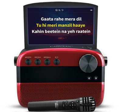Saregama Carvaan Karaoke with Display